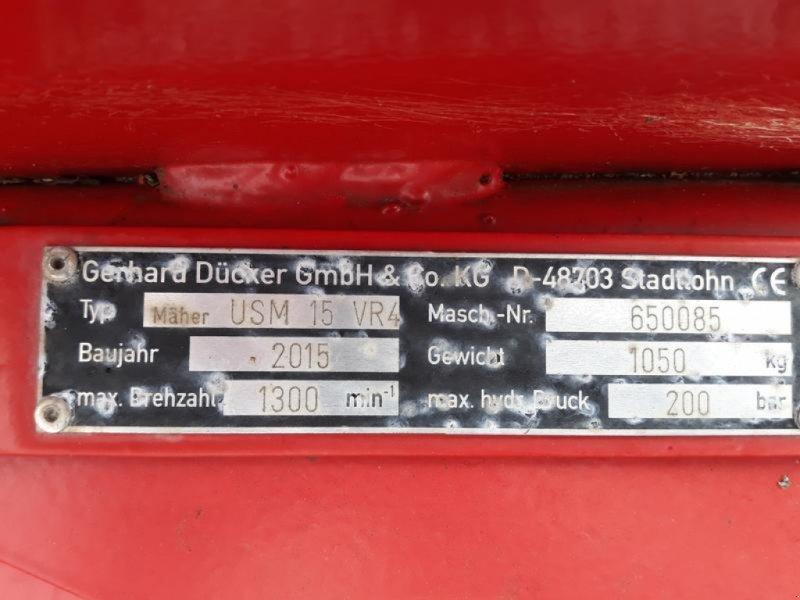 Mulcher des Typs Dücker USM 15, Gebrauchtmaschine in Itterbeck (Bild 11)