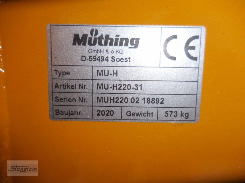 Mulcher типа Müthing MU-H 220 Vario, Neumaschine в Waischenfeld (Фотография 4)