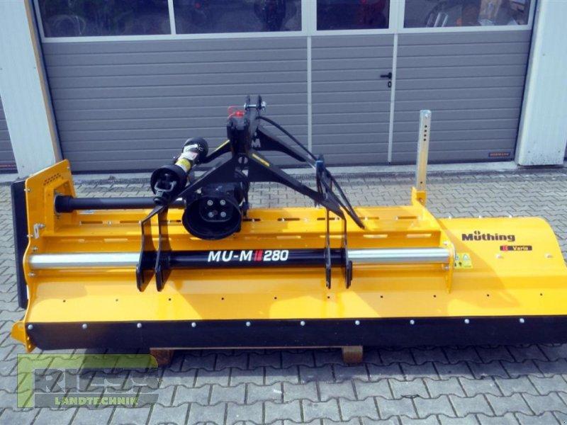 Mulcher a típus Müthing MU-M 280 Vario, Neumaschine ekkor: Homberg (Ohm) - Maul (Kép 3)