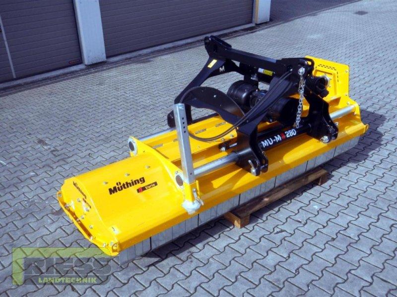 Mulcher a típus Müthing MU-M 280 Vario, Neumaschine ekkor: Homberg (Ohm) - Maul (Kép 5)