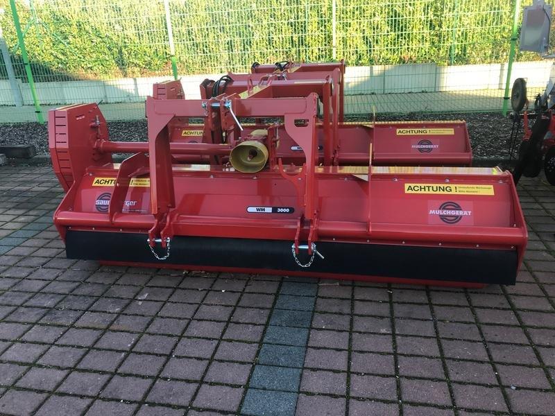 Mulcher des Typs Sauerburger WM 3000 H+F, Gebrauchtmaschine in Bad Rappenau (Bild 1)