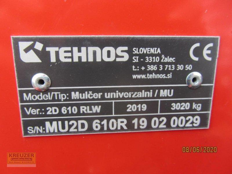 Mulcher типа Tehnos MU2D 610R, Neumaschine в Much (Фотография 3)