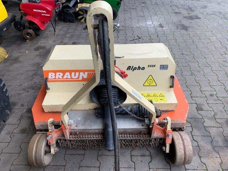 Mulchgerät & Häckselgerät typu Braun Alpha 2000, Gebrauchtmaschine w Bad Sobernheim (Zdjęcie 1)