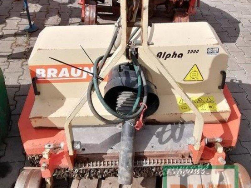 Mulchgerät & Häckselgerät des Typs Braun Mulcher, Gebrauchtmaschine in Saulheim (Bild 1)