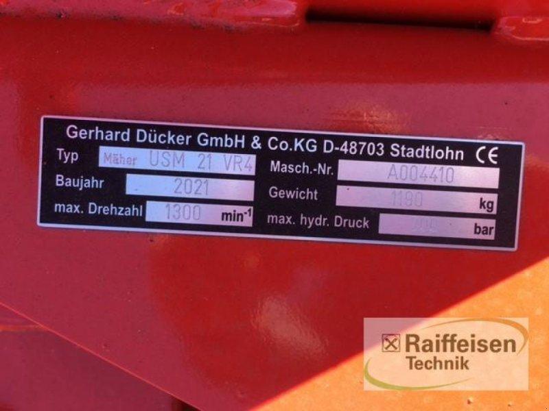 Mulchgerät & Häckselgerät des Typs Dücker Uni-Seitenmäher USM-21 VR4, Neumaschine in Gnutz (Bild 5)