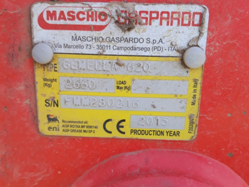 Mulchgerät & Häckselgerät des Typs Maschio Gemella 620, Gebrauchtmaschine in Manching (Bild 5)