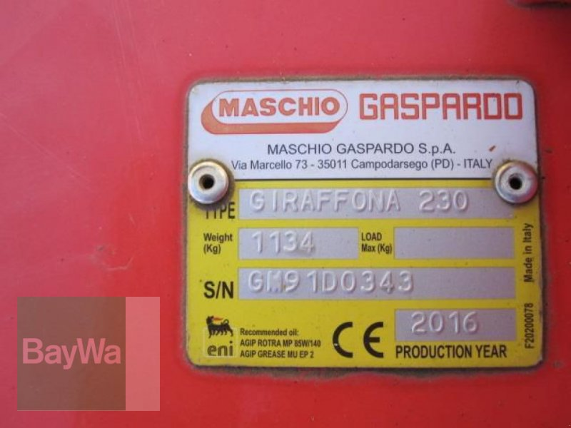 Mulchgerät & Häckselgerät des Typs Maschio GIRAFFONA 230 MASCHIO MULCHER, Neumaschine in Herzberg (Bild 6)