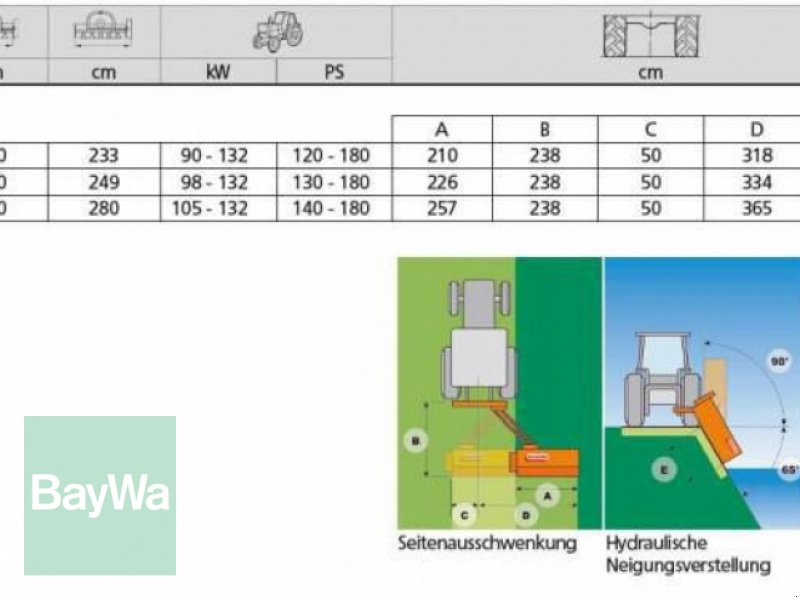 Mulchgerät & Häckselgerät des Typs Maschio GIRAFFONA 230 MASCHIO MULCHER, Neumaschine in Herzberg (Bild 4)