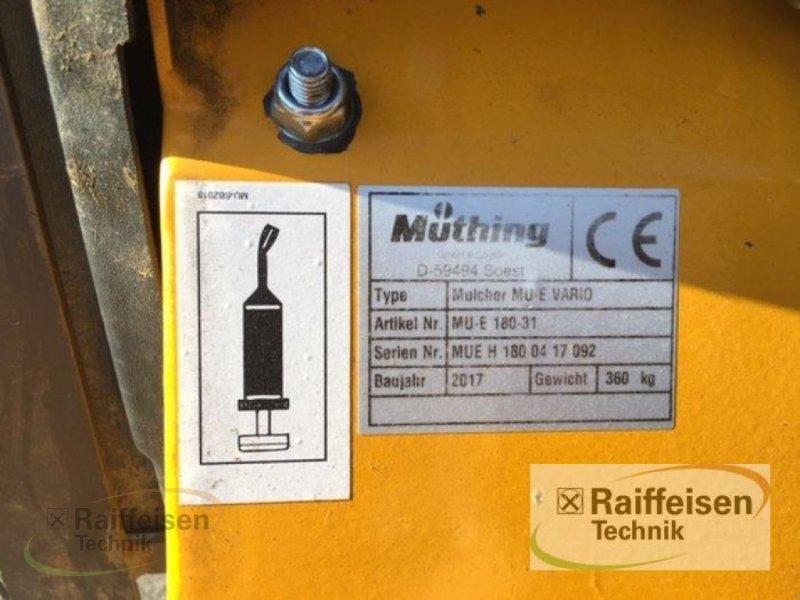 Mulchgerät & Häckselgerät des Typs Müthing MU-E Vario 180-31, Gebrauchtmaschine in Hofgeismar (Bild 3)