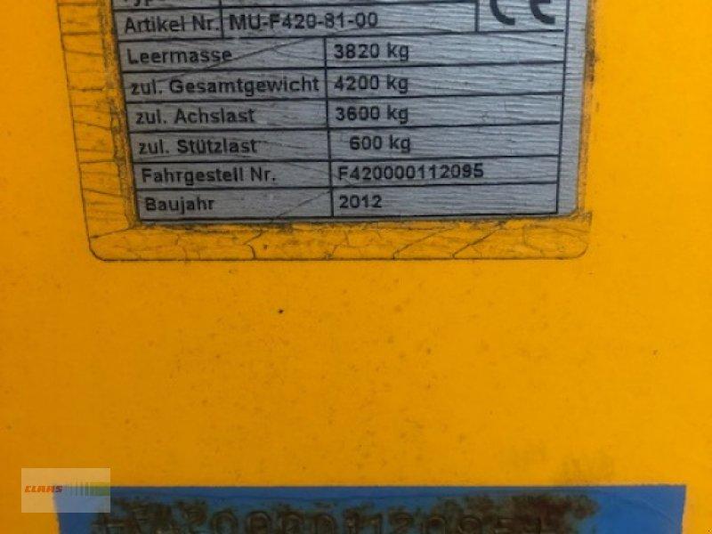 Mulchgerät & Häckselgerät des Typs Müthing Mu-Farmer 420 S, Gebrauchtmaschine in Langenau (Bild 9)