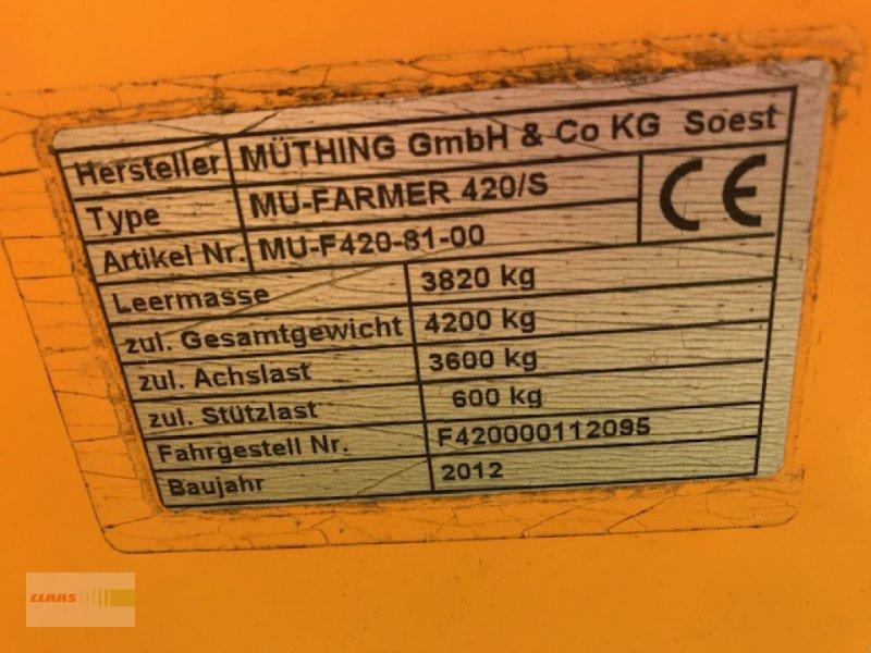 Mulchgerät & Häckselgerät des Typs Müthing Mu-Farmer 420 S, Gebrauchtmaschine in Langenau (Bild 10)