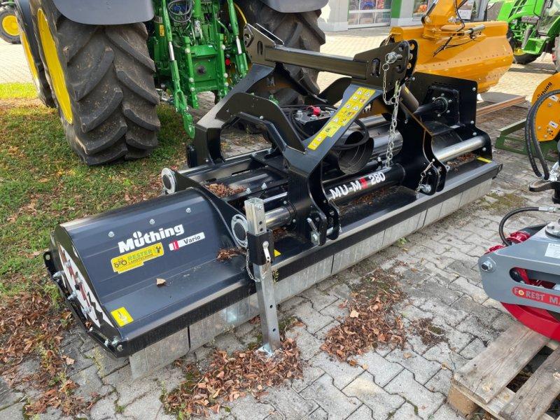 Mulchgerät & Häckselgerät typu Müthing MU-M 280 Black Edition, Neumaschine w Burglengenfeld (Zdjęcie 1)
