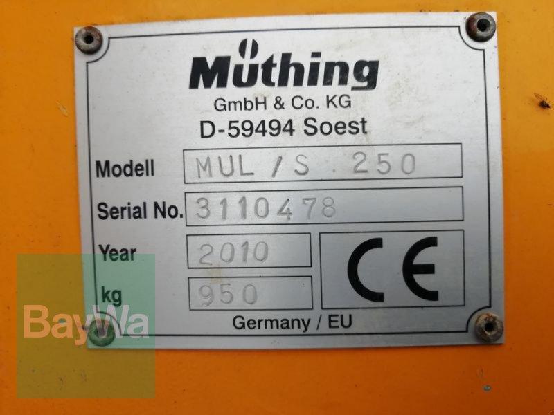 Mulchgerät & Häckselgerät des Typs Müthing MUL/ S 250, Gebrauchtmaschine in Schwarzenfeld (Bild 3)