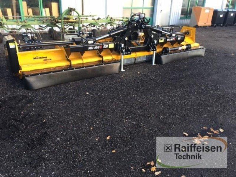 Mulchgerät & Häckselgerät des Typs Müthing Mulchgerät MU-M/F 600 Vario, Ausstellungsmaschine in Gnutz (Bild 1)