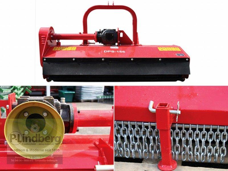 Mulchgerät & Häckselgerät des Typs P.Lindberg GmbH Schlegelmulcher DPS-155 Hammerschlegel 24 St. Weide Gras Mulch Kat. 40 - 80 PS, Neumaschine in Großenwiehe (Bild 1)