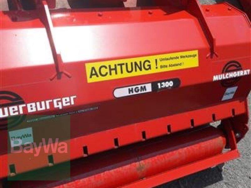Mulchgerät & Häckselgerät des Typs Sauerburger HGM 1300 U, Neumaschine in Volkach (Bild 2)