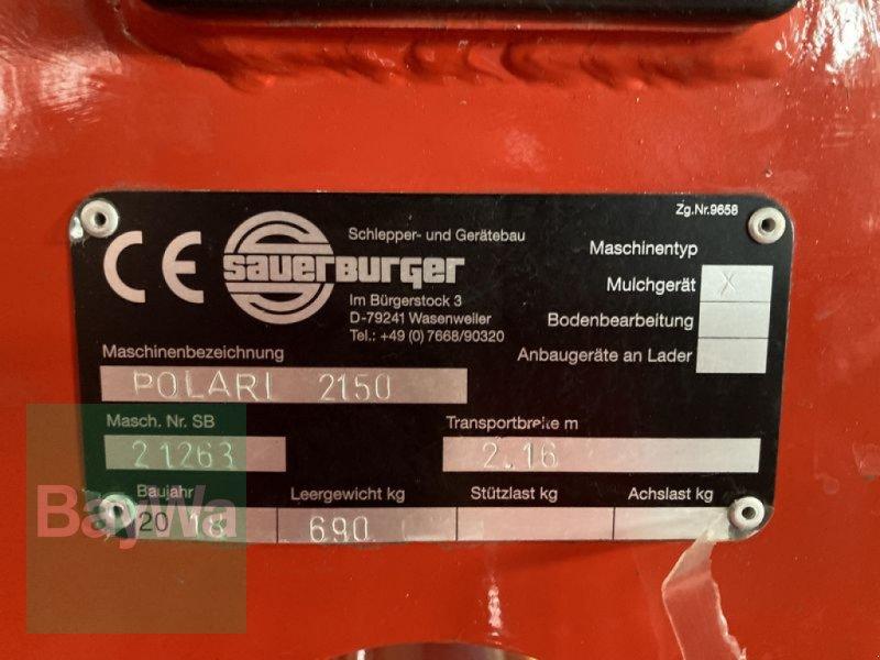 Mulchgerät & Häckselgerät des Typs Sauerburger POLARIS 2150 Front, Gebrauchtmaschine in Obertraubling (Bild 5)