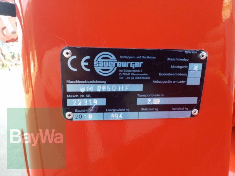 Mulchgerät & Häckselgerät des Typs Sauerburger WM 2650 HF, Gebrauchtmaschine in Bamberg (Bild 7)