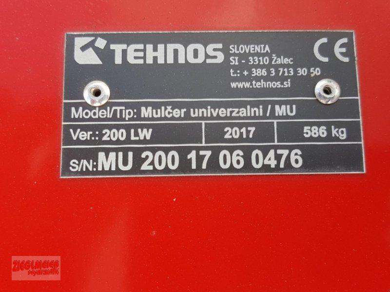 Mulchgerät & Häckselgerät des Typs Tehnos MU 200 LW, Neumaschine in Rottenburg (Bild 5)