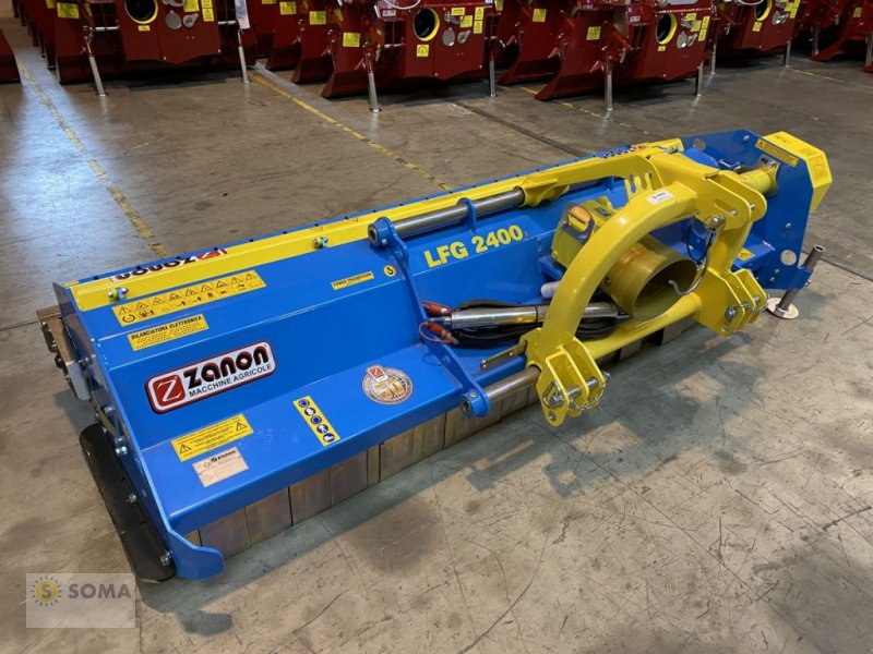 Mulchgerät & Häckselgerät des Typs Zanon LFG 2400, Neumaschine in Fischbach (Bild 1)