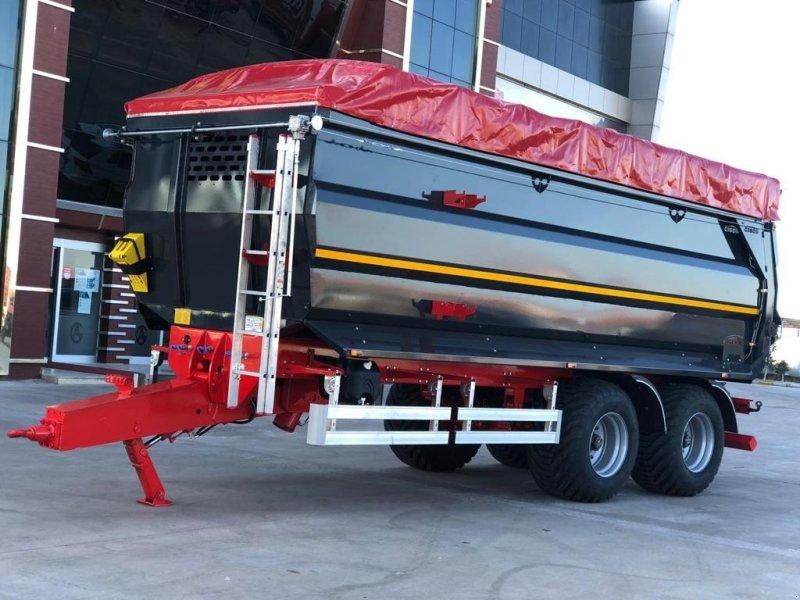 Muldenkipper tipa AS Trailers 18 tons bagtipvogn, Gebrauchtmaschine u Ringe (Slika 1)