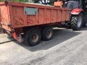 Muldenkipper tip BIGAB Heuschmid 7-10 Fin kroghejsvogn der er indregistreret til godstransport   Der med følger 2 container en 80 cm x 4,5 m en 170 cm x 4,5 m maskine lad 4,5 m, Gebrauchtmaschine in Sakskøbing