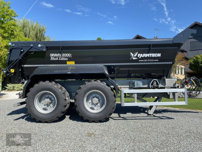 Muldenkipper des Typs Farmtech Gravis 2000 Black Edition 40 Km/h!, Gebrauchtmaschine in Rankweil (Bild 1)