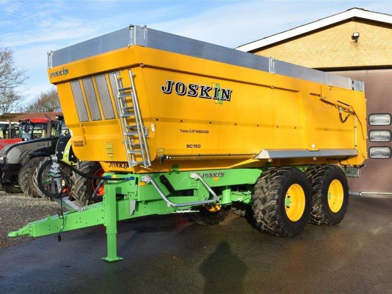 Muldenkipper типа Joskin Trans-Cap 6500/22 BC150 Med 75 cm aluminiums overbygning, Gebrauchtmaschine в Grindsted (Фотография 1)