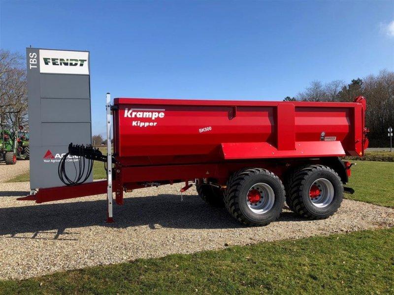 Muldenkipper tip Krampe SK500 Entreprenør vogn med Hardox kasse, Gebrauchtmaschine in Grindsted (Poză 1)