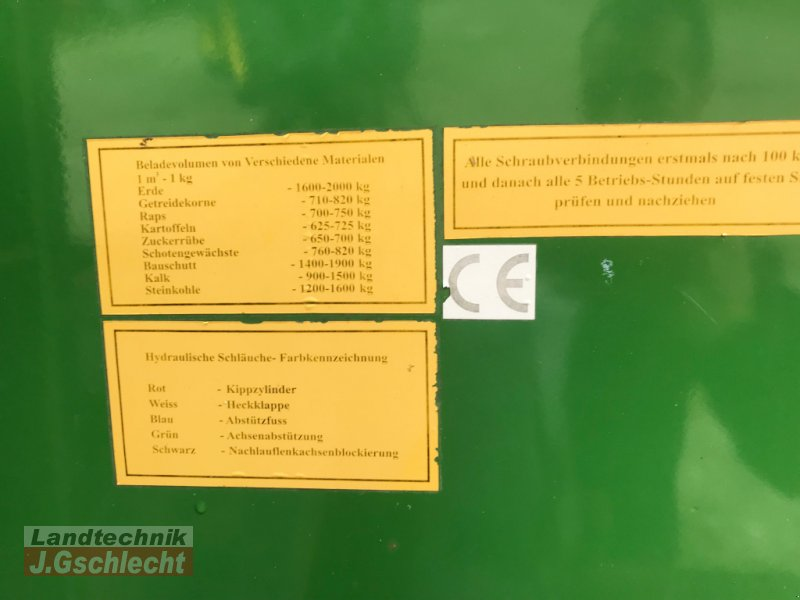 Muldenkipper des Typs Mammut PBN 20 Baumulde mit Aufbau, Gebrauchtmaschine in Mühldorf (Bild 21)