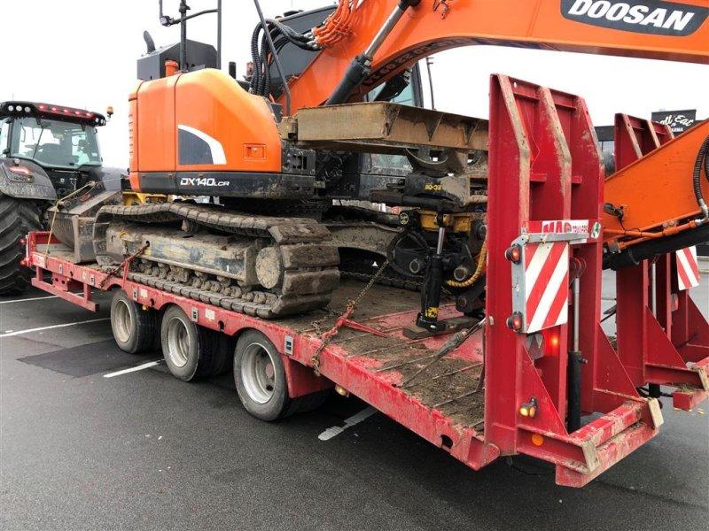 Muldenkipper типа Oleo Mac 3 akslet maskintrailer 27 ton 90cm ramper, udtræk sider, udtræk lys, Gebrauchtmaschine в Aalborg SV (Фотография 1)