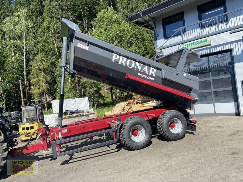 Muldenkipper des Typs PRONAR T 701HP Halfpipe Hardox Tandem, Neumaschine in Kötschach (Bild 1)