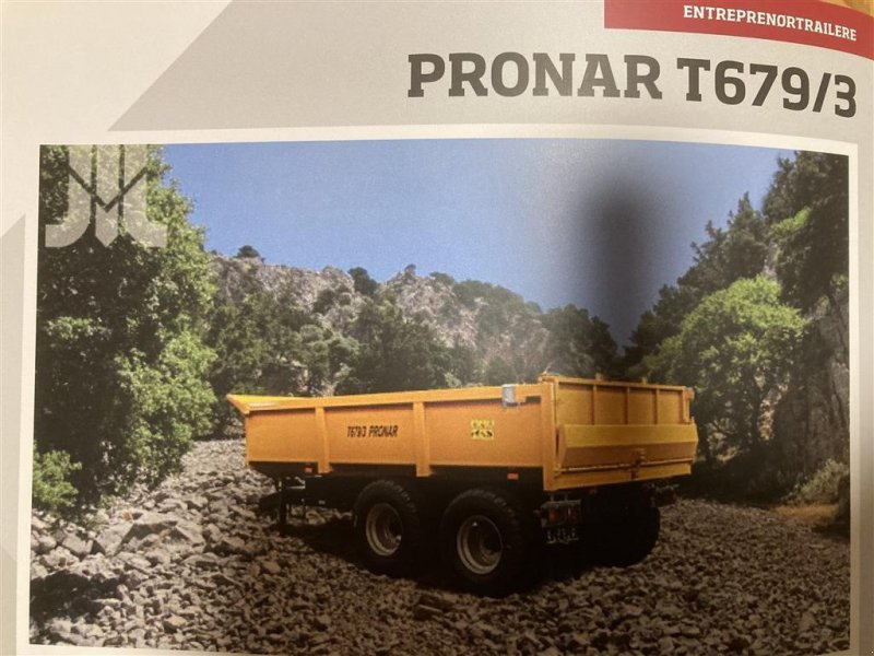 Muldenkipper tip PRONAR T679/3, Gebrauchtmaschine in Dalmose (Poză 1)