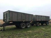 Scania 32 tons vogntræk 3 vejstip på begge vogne Muldenkipper