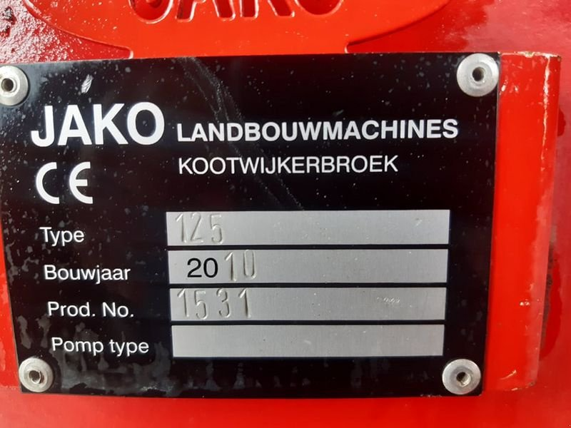 Muldenkipper des Typs Sonstige Jako Tiger 125 TOP Zustand!, Gebrauchtmaschine in Villach/Zauchen (Bild 13)