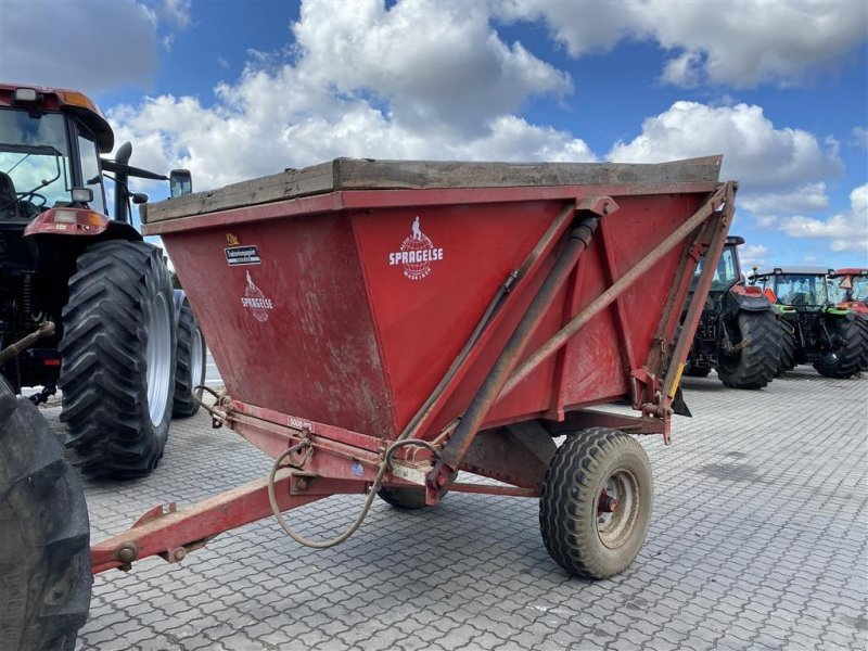 Muldenkipper tip Spragelse Højtip 5 tons MED GRÆSSIDER!, Gebrauchtmaschine in Aalestrup (Poză 1)
