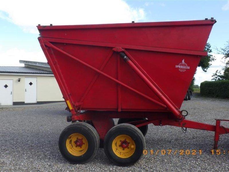 Muldenkipper tipa Spragelse Højtipvogn 10 Tons direkte i container, Gebrauchtmaschine u Ringsted (Slika 1)