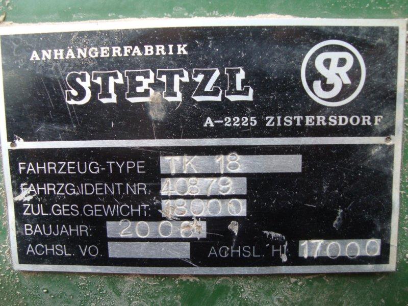Muldenkipper des Typs Stetzl TK 18, Gebrauchtmaschine in Emskirchen (Bild 8)