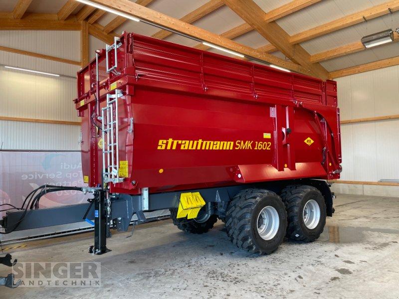 Muldenkipper des Typs Strautmann SMK 1602 - Kipper Edition 2021 in Sonderfarbe, Neumaschine in Ebenhofen (Bild 1)