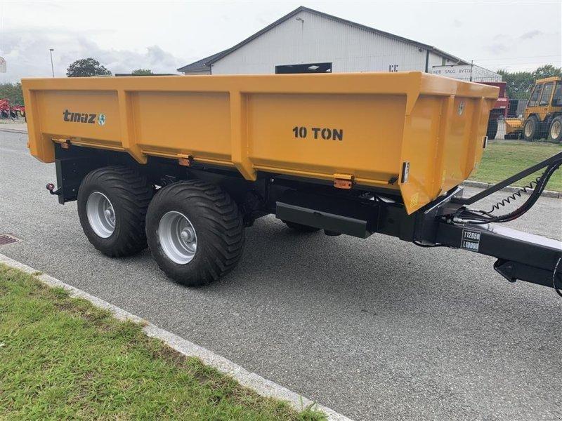 Muldenkipper des Typs Tinaz 10 tons dumpervogn med hydr. bagklap - 60 cm sider, Gebrauchtmaschine in Ringe (Bild 1)