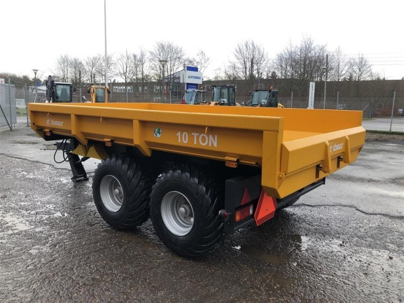 Muldenkipper des Typs Tinaz 10 tons dumpervogn, Gebrauchtmaschine in Viborg (Bild 4)