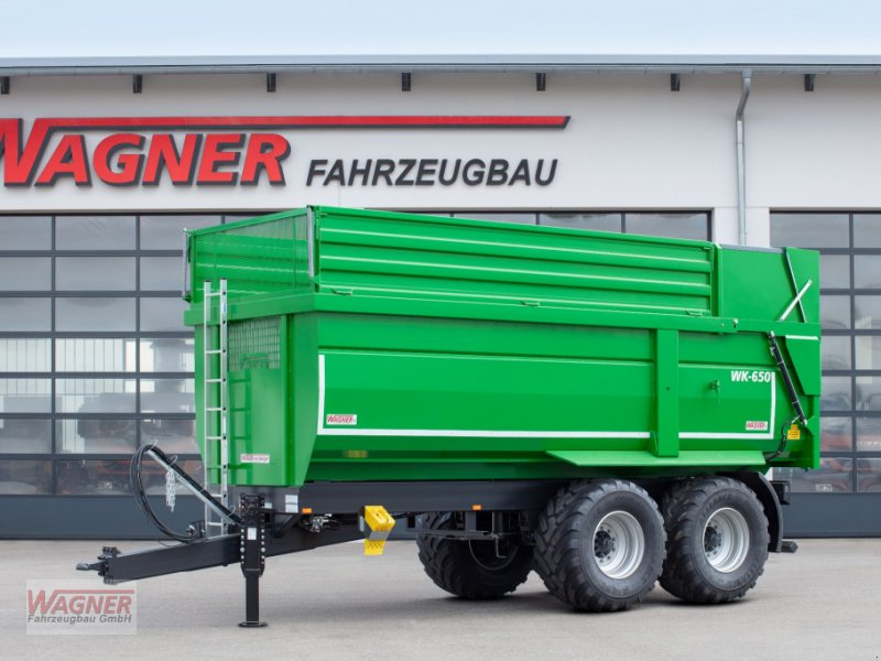 Muldenkipper des Typs Wagner WK 650, Neumaschine in Deiningen (Bild 1)