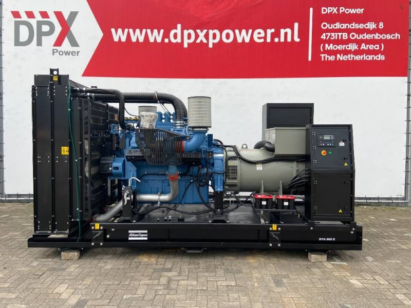 Notstromaggregat a típus Atlas Copco DTA 880 - MTU - 880 kVA Generator - DPX-19419-1, Gebrauchtmaschine ekkor: Oudenbosch (Kép 1)