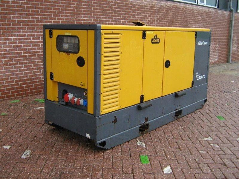 Notstromaggregat типа Atlas Copco QAS60, Gebrauchtmaschine в Barneveld (Фотография 1)