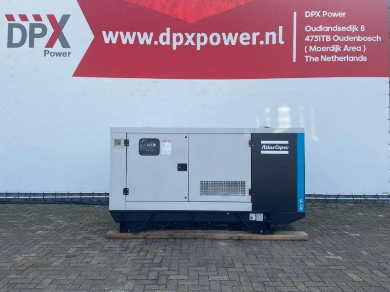 Notstromaggregat типа Atlas Copco QIS 95 - 95 kVA Generator - DPX-12413, Gebrauchtmaschine в Oudenbosch (Фотография 1)