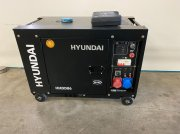 Notstromaggregat a típus Hyundai Aggregaat / Generator, 8 KVA, 230 + 400 volt, Gebrauchtmaschine ekkor: Heijen