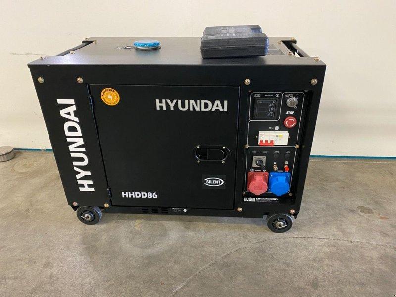 Notstromaggregat типа Hyundai Aggregaat / Generator, 8 KVA, 230 + 400 volt, Gebrauchtmaschine в Heijen (Фотография 1)