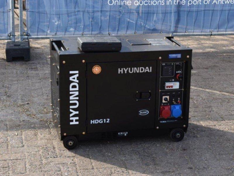 Notstromaggregat a típus Hyundai HDG12, Gebrauchtmaschine ekkor: Antwerpen (Kép 1)