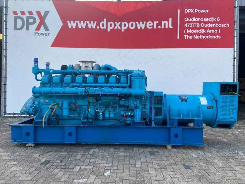 Notstromaggregat типа Mitsubishi S16N PTA - 1.000 kVA Generator Set - DPX-12426, Gebrauchtmaschine в Oudenbosch (Фотография 1)