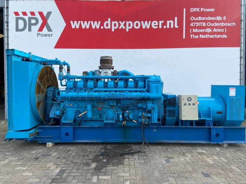 Notstromaggregat des Typs Mitsubishi S16NPTA - 1.000 kVA Generator - DPX-12321, Gebrauchtmaschine in Oudenbosch (Bild 1)